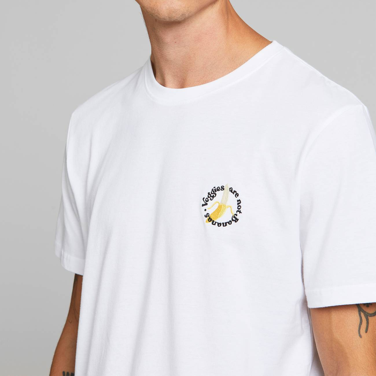 Dedicated Not Bananas T-Shirt white