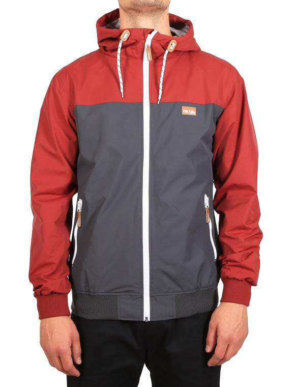 Auf Deck Streetjacke anthra red
