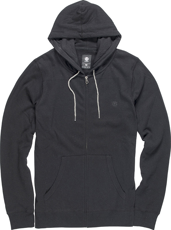 Classic Cornell Zip Hoody charc htr