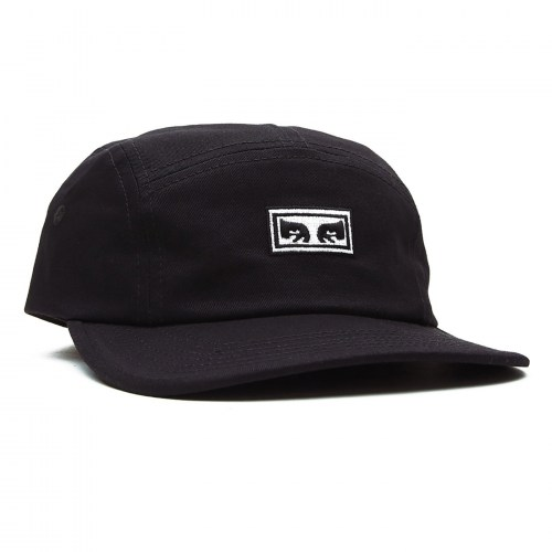 Obey Eyes 5 Panel Hat blk