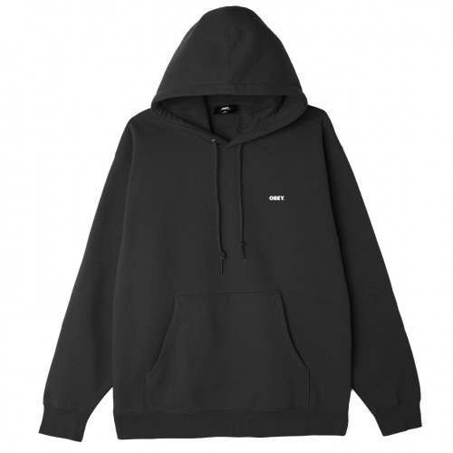 Obey Statue Icon Hoody black