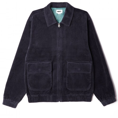 Obey Captain Jacket french navy