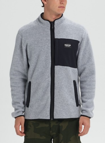 Hearth Fleece Jkt gry blk