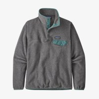 Patagonia Snap T PO LW Synch Fleece nickel green