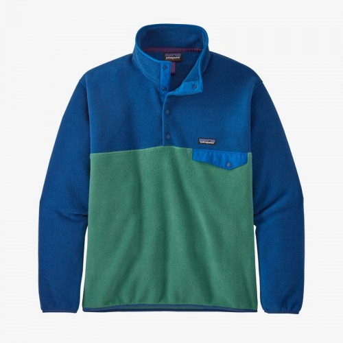 Patagonia Synch LW Snap T PO Fleece green