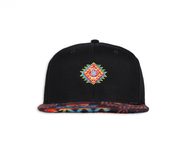 Djinns Aztek Cap crown black