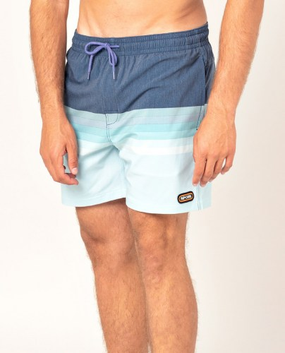 Rip Curl Layered Volley Shorts navy