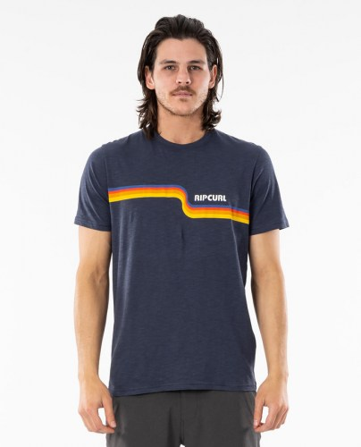 Rip Curl Surf Revival Tee navy