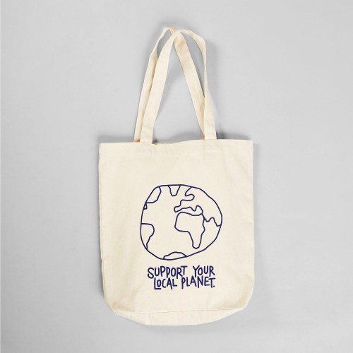 Dedicated Local Planet Bag off white