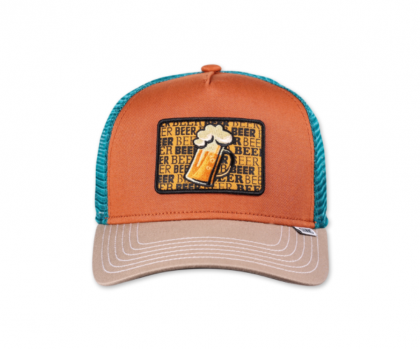 Djinns Beer Trucker Cap rust