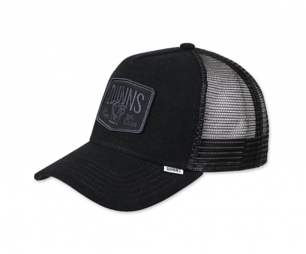 Djinns Hippy Trucker Canvas Cap black