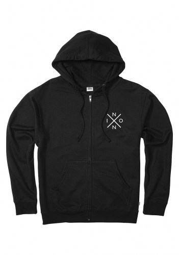 Spot Zip Hoody black