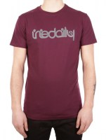 iriedaily-No-Matter-4-Tee-red-wine-1171100_2354